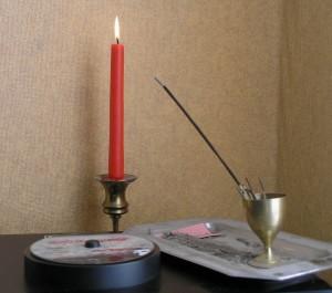 Hormonizer mit Kerze